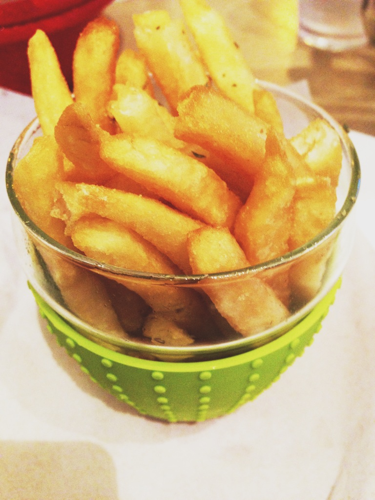 Truffle fries? Anytime baby, anytime. $6.90, regular sized.
