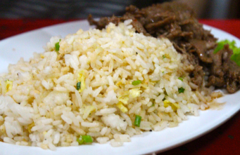 Fried rice Lok Lak - the best!