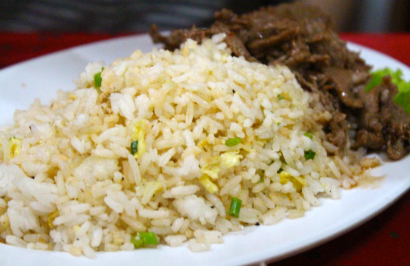 Fried rice Lok Lak - the best!