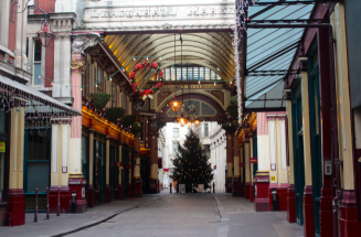 Leadenhall Market (a.k.a Diagon Alley)